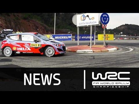 Vídeo resumen tramos 18 al 20 WRC Rally RACC Cataluña España 2015