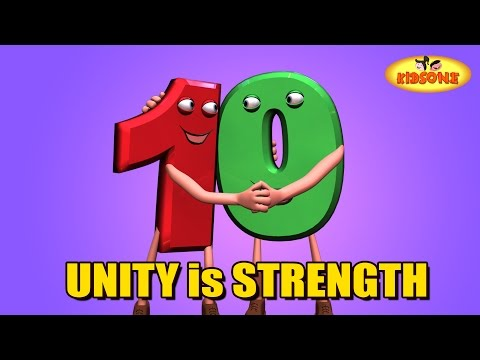 Unity is Strength | 3D Animation Moral Story For Children