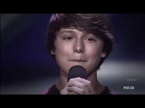 Stone Martin The X Factor USA 2013 Four Chair Challenge