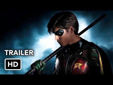 TITANS Official Comic-Con Trailer (HD) DC Universe series