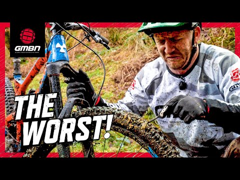 The Worst Things About Being A Mountain Biker (видео)