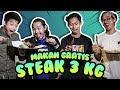 GRATIS ! Makan Daging 3 Kilo Di Holy Smokes #CekOmbak