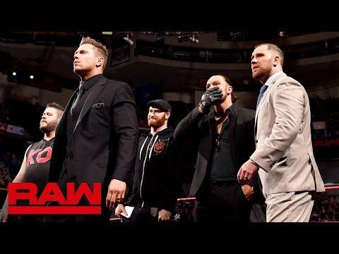 The Miz is headed to SmackDown LIVE: Raw, April 16, 2018 (видео)