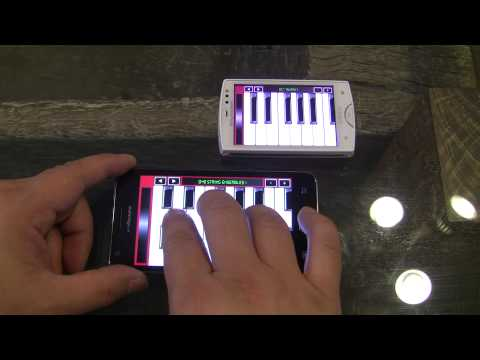 Video of WaveSynth for Android
