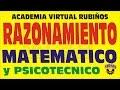 RAZONAMIENTO MATEMATICO Y PSICOTECNICO PREUNIVERSITARIO
