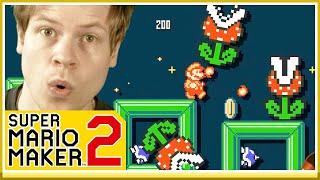 10 BANOR I RAKEN!  - Spelar era banor i Mario Maker 2