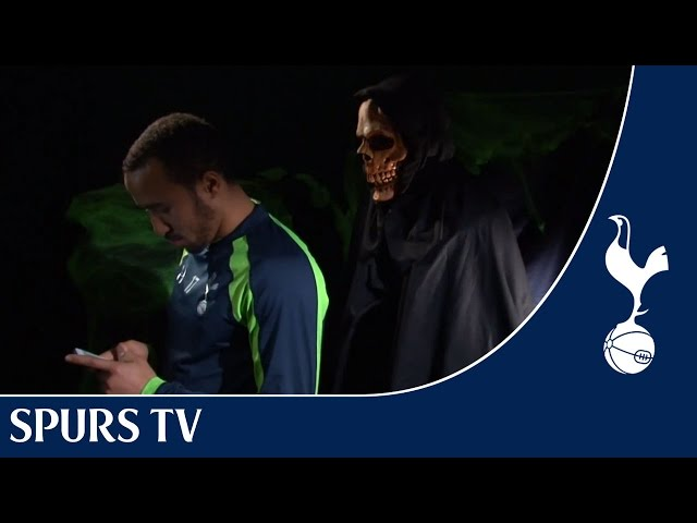 KYLE WALKER PULLS HALLOWEEN PRANKS ON TOTTENHAM HOTSPUR TEAMMATES
