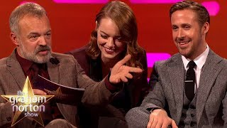 Video Ryan Gosling & Emma Stone EXTENDED INTERVIEW on The Graham Norton Show MP3, 3GP, MP4, WEBM, AVI, FLV Desember 2018