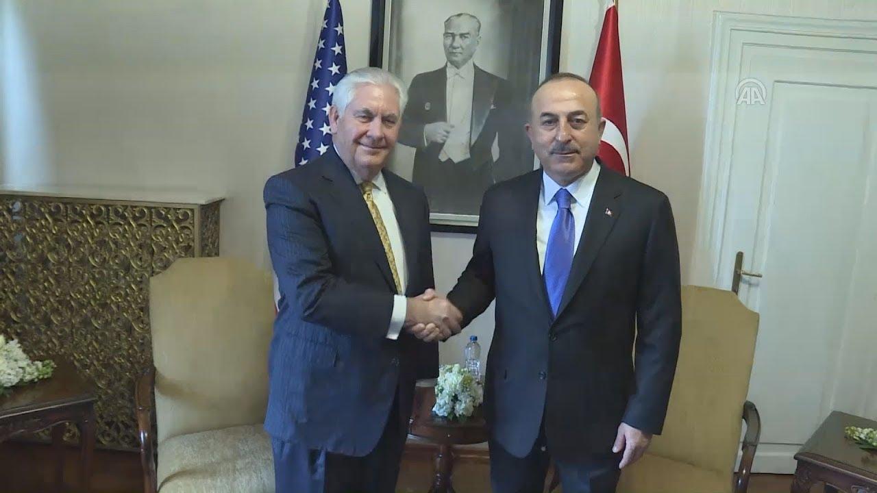 Συνάντηση Ρέξ Τίλερσον με τον Τούρκο ομόλογό του, Μεβλούτ Τσαβούσογλου