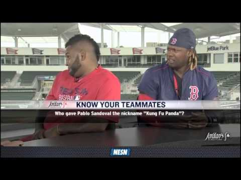 Video: Pablo Sandoval Faces Off Against Hanley Ramirez In 'Know Your Teammates'