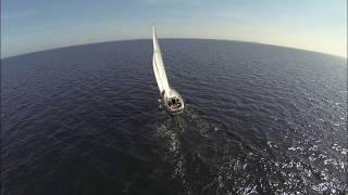 Nordstjernen med Sletterhage om bagbord