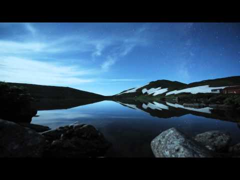 Japan: Black Blue White - Hakuba Time Lapse HD
