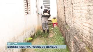 Prefeitura de Boituva usa drones no combate aos focos de dengue