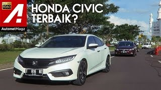 Video Review Honda Civic Turbo and test drive by AutonetMagz MP3, 3GP, MP4, WEBM, AVI, FLV Oktober 2017