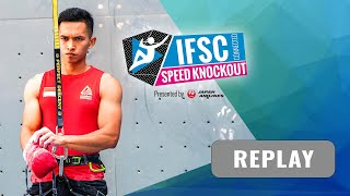 The IFSC Connected Speed Knockout presented by Japan Airlines by International Federation of Sport Climbing