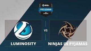 NiP vs Luminosity, game 1
