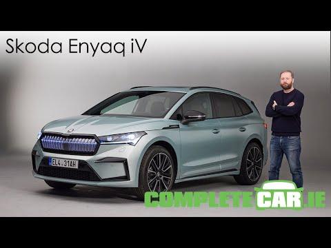 Skoda Enyaq iV - detailed first look at Skoda's electric SUV