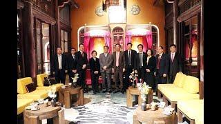 Bí thư Tỉnh ủy Quảng Ninh Nguyễn Văn Đọc tiếp Đại sứ Nhật Bản Umeda Kunio