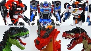 Video 3 Transforming Robots Vs. Dinosaurs and Dragon~! Tobot Athlon Season 3 Transforming Robots MP3, 3GP, MP4, WEBM, AVI, FLV Juli 2018