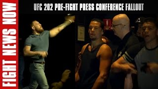 UFC 202 Pre-Fight Press Conference Fallout; Publicity Gained on Fight News Now by Fight Network