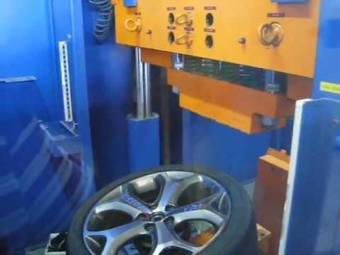 Тест литых дисков WSP Italy W950 MAX-MEXICO на косой удар обода (Форд)