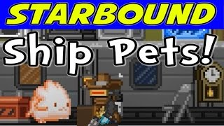 Let's play Starbound Beta! In this episode, Sheriff McShooty finds a cute little critter on his ship, thanks to the newest update!