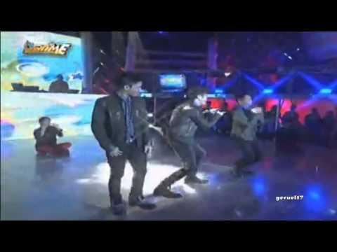 Vhong Navarro's sons Bruno, Yce - Dance Number (It's Showtime)