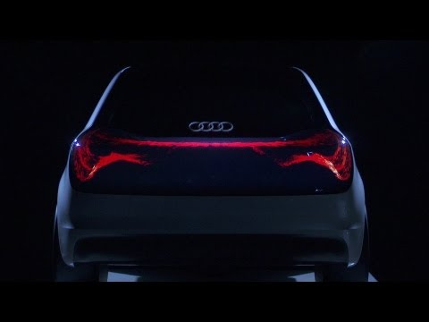Audi OLED 'The Swarm'