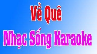 Video Karaoke Nhạc Sống |  Về Quê ( Cha Cha Cha ) | Duy Tùng Karaoke MP3, 3GP, MP4, WEBM, AVI, FLV Juni 2019