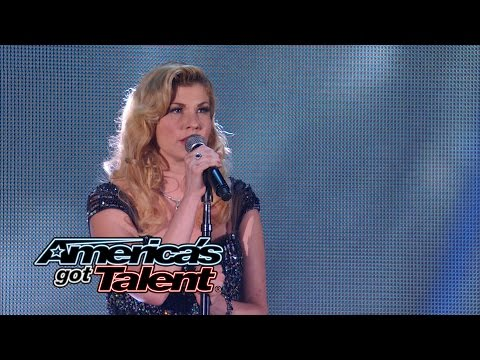~ America's - Emily West stuns the crowd with her flawless vocals singing
