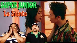 Super Junior feat Leslie Grace Los Siento MV | Couple Reaction