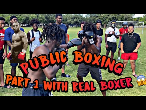 MOST EXTREME LAST TO GET KNOCKED OUT WINS CHALLENGE ( REAL BOXER V.S YOUTUBER MUST WATCH 😱