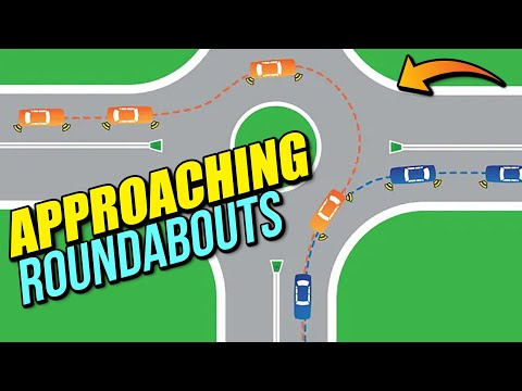 Approaching Roundabouts UK - Driving Lesson!