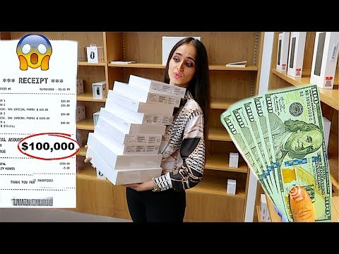 Giving Sister One Hour To Spend $100,000 Challenge