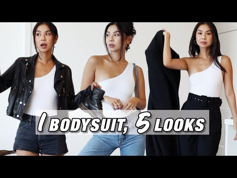 How to Style a Clyque Bodysuit - 1 Bodysuit, 5 Looks