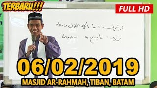 Video Ceramah Terbaru Ustadz Abdul Somad Lc, MA - Masjid Ar-Rahmah, Tiban, Batam MP3, 3GP, MP4, WEBM, AVI, FLV Maret 2019