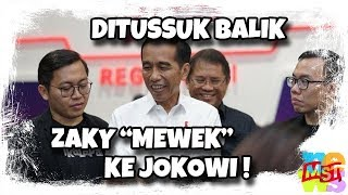 Video Achmad Zaky-Bukalapak T(us)uk Jokowi, Dit(us)uk Balik, Lalu Mewek ke Jokowi MP3, 3GP, MP4, WEBM, AVI, FLV Februari 2019
