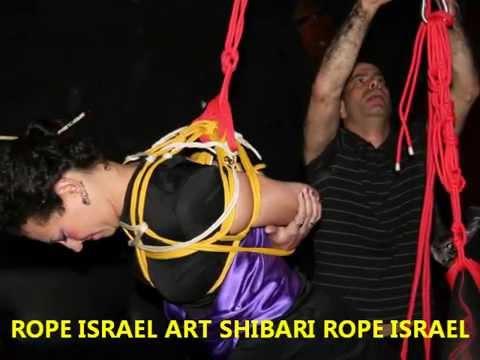 rope israel 24 Japanese Geisha 2 - shibari bondage suspension art session