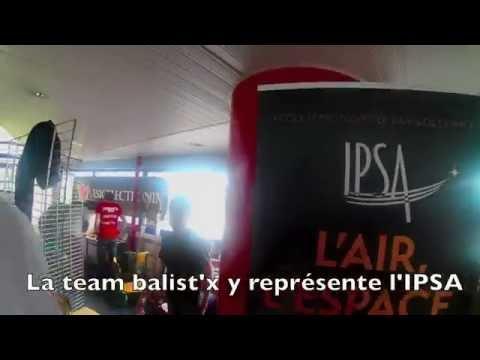 Course de drones : découvrez la Team BalistX des étudiants de l'IPSA
