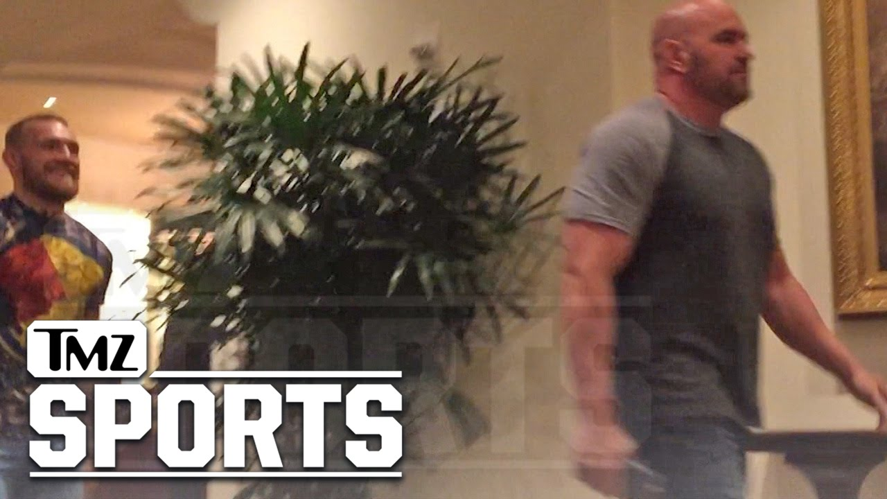 Conor McGregor & Dana White Reunited with Big Plans | TMZ Sports