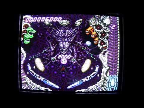 Alien Crush PC Engine