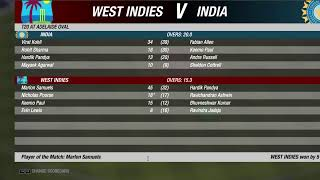 T20 Championship || India Vs WestIndies || Multiplayer || Cricket 19 ||