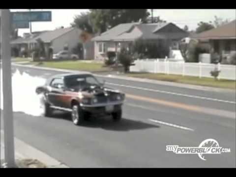 myPowerBlock: 1969 Shelby Burnout