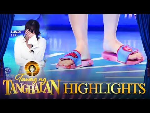 Yorme hides Arci's high heels | Tawag ng Tanghalan