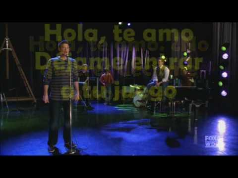 Hello I Love You - Glee Cast (Traduccion En Español)