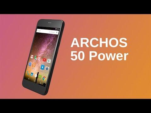 ARCHOS 50 Power Presentation