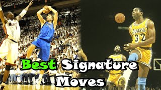 Video 10 Greatest Signature Moves In NBA History! MP3, 3GP, MP4, WEBM, AVI, FLV Juni 2019