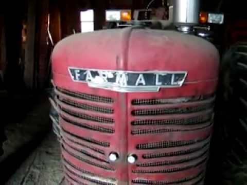 Old Red 1947 Farmall Super M tractor still running strong