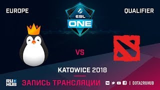 Team Kinguin vs Team Doggie, ESL One Katowice EU, game 1 [Adekvat, Smile]