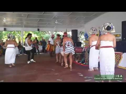 Igbo Girls Perform Umu Agbogho (Maiden's Dance) at the 2016 Igbo World Festival